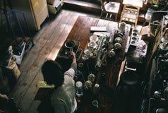 Kaffee-Schwingungen Stockfotografie