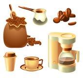 Kaffee-Set Lizenzfreie Stockfotografie