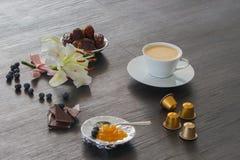 Kaffee spät Lizenzfreie Stockbilder