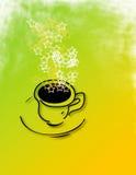 Kaffee-Stern-Qualität Stockfotografie
