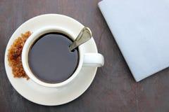 Kaffee und Anmerkungsbuch Lizenzfreie Stockbilder