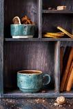 Kaffee und Gewürze Stockbilder