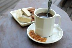 Kaffee und Imbiss Lizenzfreie Stockfotos