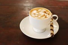 Kaffee und Kaffeekunst lizenzfreie stockfotografie