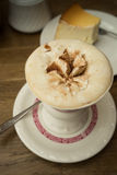 Kaffee und Kuchen Rudesheimer Lizenzfreie Stockfotos