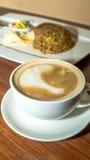 Kaffee und Mahlzeit Lizenzfreie Stockbilder