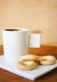 Kaffee und mehr Stockbild