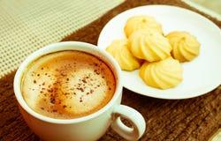 Kaffee und mehr Lizenzfreies Stockfoto