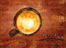 Kaffee und mehr lizenzfreie abbildung