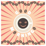Kaffee und mehr Guten Morgen Lizenzfreie Stockfotografie