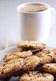 Kaffee und Plätzchen Lizenzfreies Stockfoto