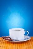 Kaffee und Plätzchen Stockbild
