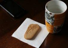 Kaffee und Plätzchen Lizenzfreies Stockbild