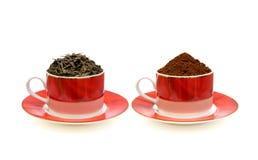 Kaffee und Tee Lizenzfreie Stockfotos