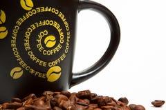 Kaffee und Zubehör Lizenzfreies Stockbild