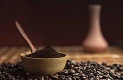 Kaffee-Vase Stockfotos