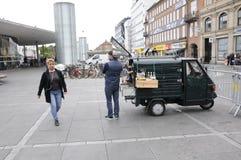 KAFFEE-VERKÄUFER Lizenzfreie Stockfotos
