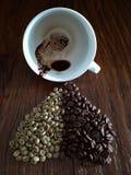 Kaffee-Wahrsagerei Lizenzfreies Stockbild