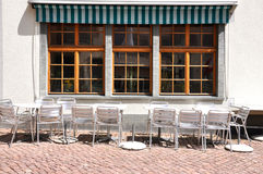 Kaffee in Zürich im Stadtzentrum gelegen Stockfotos