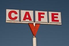 Kaffee-Zeichen Lizenzfreies Stockfoto