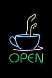 Kaffee-Zeichen Stockbilder