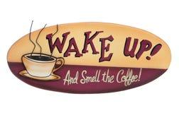 Kaffee-Zeichen Stockfotografie