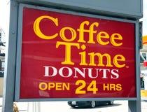 Kaffee-Zeit stockbilder