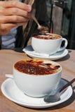 Kaffee-Zeit Lizenzfreie Stockfotos