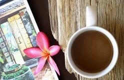 Kaffee-Zeit Stockfoto