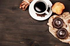Kaffee zum Frühstück Lizenzfreie Stockfotos