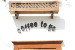 Kaffee zum zu gehen stockfotos
