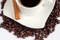 Kaffeeaufbau Lizenzfreie Stockbilder
