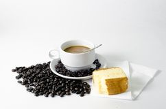 Kaffeebäckerei Blume Stockbild