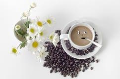 Kaffeebäckerei Blume Stockbilder