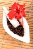 Kaffeebehandlung Stockbild