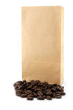 Kaffeebeutel Lizenzfreie Stockfotos