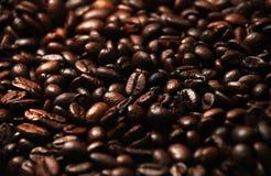 Kaffeebohne-Hintergrund Stockbild