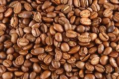 Kaffeebohne-Hintergrund Lizenzfreies Stockfoto