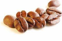 Kaffeebohne-Makro lizenzfreie stockbilder