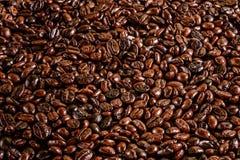Kaffeebohne-Musterbeschaffenheit Stockfoto