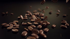 Kaffeebohne-Zeitlupefallen
