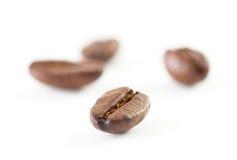 Kaffeebohneabschluß oben Lizenzfreie Stockfotos