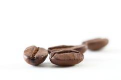 Kaffeebohneabschluß oben Stockfotos