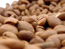 Kaffeebohneabschluß oben Lizenzfreies Stockbild