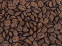 Kaffeebohnehintergrund Lizenzfreies Stockfoto