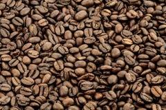 Kaffeebohnehintergrund Lizenzfreie Stockbilder