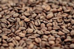 Kaffeebohnehintergrund Lizenzfreies Stockbild