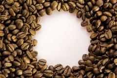 Kaffeebohnehintergrund Lizenzfreie Stockfotos