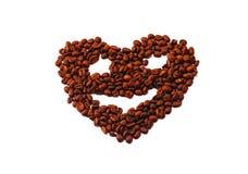 Kaffeebohnekunst Stockbilder