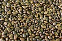Kaffeebohnemuster Stockbild